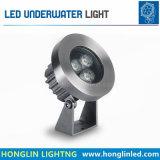 IP68 imprägniern die Farbe, die 6W LED Unterwasserlicht ändert