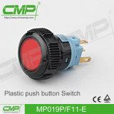 19mmの高いヘッドプラスチック押しボタンの制御スイッチ