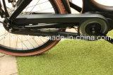 2018 250W/500W Bafang Middenmotor 7sp Nexus Elektrische Bakfiet/carga E Bicicleta triciclo de carga/familia/3 rueda de bicicleta de Carga/Carga Bakfietsen Caja de madera marrón