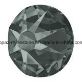 Bester 2088 schneidener schwarzer Diamant nicht Hotfix Glasrhinestone-flache RückseiteRhinestone (FB-13)