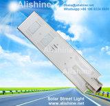 réverbère solaire Integrated de la lampe extérieure DEL du jardin 20watts pour l'Inde/Nigéria/Indonésie