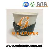カスタム熱い飲み物のコーヒー紙コップの袖