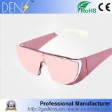 Óculos de sol polarizados Eyewear do espelho do metal UV400 do gato 3