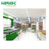 Una solución integral para el equipamiento de supermercado de estante de Góndola.
