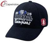 3D刺繍が付いているスポーツの野球帽