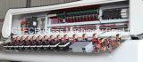 PLC制御(CGZ9325P)を用いるカスタマイズされた9つのモーター縦ガラスの粉砕の機械装置