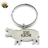 Kundenspezifische Andenken-Tiermetall Keychain mit SGS-Bescheinigung