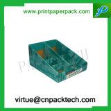 Конфета высокого качества изготовленный на заказ или коробка индикации карточки бумажная с печатью цвета
