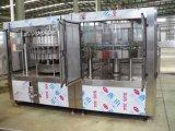 Productos de relleno de Monoblock del animal doméstico de la cola automática completa rotatoria de la botella