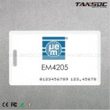 Tansoc RFID Zugriffssteuerung-Maschinenhälften-Karte intelligente ISO kardieren