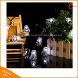 Im Freiengarten-kleiden Solardekoration-Zeichenkette-Licht für Partei-und des Festival-LED Lampe oben an
