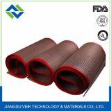 Hochtemperatur-PTFE überzogene Fiberglas-Ineinander greifen-Förderbänder
