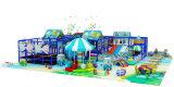 De plastic Apparatuur van de Speelplaats van de Trein van de Kinderen van het Winkelcomplex van het Stuk speelgoed Binnen
