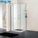 Recinto de cristal de la ducha de la puerta deslizante
