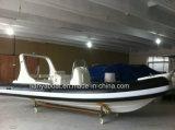 Het Rubber die van Liya 20FT de Stijve Opblaasbare Boot van de Rib van China (HYP620A) vissen