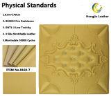 Cuoio dello Synthetic del PVC del lato del letto del contesto del pacchetto di programmi