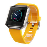 10 de In het groot Band van de Band van het Horloge van het Silicone van de Prijs van de Fabriek van de Optie van kleuren voor Uitbarsting Fitbit