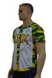 最新の昇華ボタンの野球のワイシャツの卸売(B003)