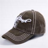 Gorra de béisbol de encargo del sombrero del algodón del casquillo del verano de la impresión de la promoción