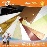 feuille de PVC de couleur solide de 1220X2880mm/prix en plastique de panneau