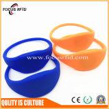 Wristband напечатанный логосом пластмассы/кремния /Bracelet Lf/Hf/UHF