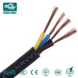 60227 IEC 53 Condutores de cobre com isolamento de PVC fio flexível Rvv Cabo Eléctrico 4x0.75mm2