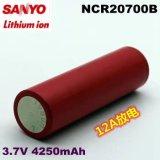 Литий-ионный аккумулятор NCR20700b для 4250mAh3.7V аккумуляторной батареи