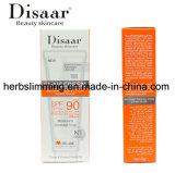 Disaar SPF90+protectores solares Fundação Bronz PA+++ livre de óleo protetor solar Protecção