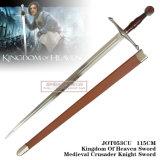 Regno della spada 115cm Jot053cu del cavaliere del crociato di Swordmedieval di cielo
