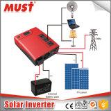 PWM 50Aの太陽料金のコントローラが付いている2000va情報処理機能をもったハイブリッド太陽インバーター