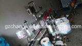 Champú automático de detergente loción barriles de botellas de dos caras de Labeler