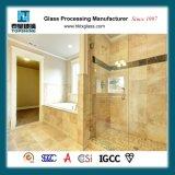 El cuarto de baño de cristal templado sin cerco Puerta deslizante para el Hotel
