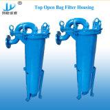 Alloggiamento elettronico del filtro a sacco dell'ingresso della parte superiore del grado per i solventi che placcano le soluzioni