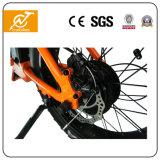 Oranje Elektrische Fiets die Frame Ebikes 36V 350W vouwen
