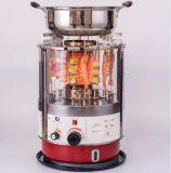 Grade usada ao ar livre interna do assado do querosene com Hotpot