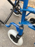 """Los minusválidos transportan la silla, sillón de ruedas manual de acero Kbw871b 18 """""""