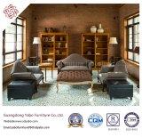 Muebles delicados del hotel con el sofá de la sala de estar fijado (YB-0199)