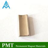 N38uh de Grote Magneet van het Neodymium van het Nikkel van de Tegel met Permanent Magnetisch Materiaal
