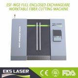 Выше мощность лазера волокно стального листа режущие машины с 1000W мощность лазера