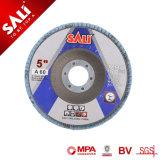 """Sali 7 """" 플랩 디스크 중국 닦는 바퀴 거친 플랩 바퀴"""