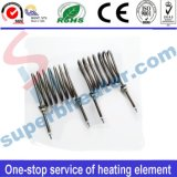 Tipo calentador tubular del resorte del elemento de calefacción