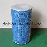 Cartuccia di filtro blu dal documento di pasta di cellulosa di nanometro della turbina a gas