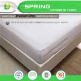 Anti Allergie en In te ademen Terry Cotton Waterproof Mattress Protector