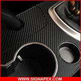 Полимерные 3D самоклеящаяся виниловая пленка из углеродного волокна (СПБ)17140