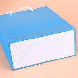 Do cartão feito sob encomenda da impressão da qualidade saco de papel de compra com punho da corda