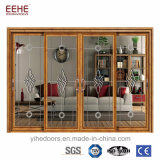 Aluminum Soundproof Sliding Door Australia standard OF Glass As2208