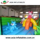 Aire de jeux gonflable géant gonflable Sunsine Cute Fun City