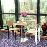 Restaurante ocidental cadeira de mesa para refeições de mobiliário