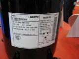 compresor R22, refrigerador comercial de SANYO, compresor hermético de 7HP C-SBR235h39A SANYO del desfile