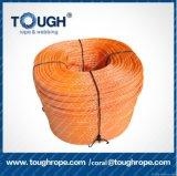 Auto cabo resistente do guincho do reboque da corda do reboque de corda puxando